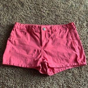 Coral SO Jean Shorts